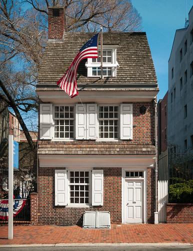 Betsy Ross House (1740), view01, 239 Arch St, Philadelphia, PA, USA