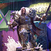Varian-Modell von World Of Warcraft am Messestand von Activision Blizzard