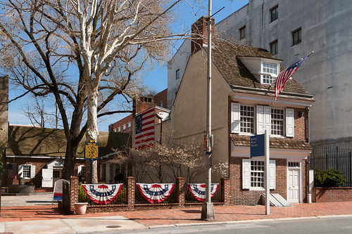 Betsy Ross House (1740), view03, 239 Arch St, Philadelphia, PA, USA