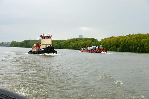 9/9/2017 - Tug Cheyenne enroute to Waterford Tugboat Roundup; Hudson Rive