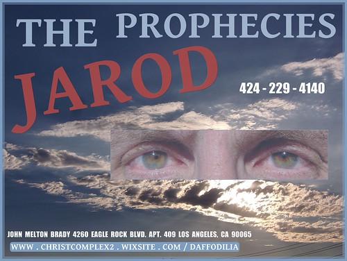 THE JAROD PROPHECIES CL-SUN 9-6-2017 EOP143 BFR D DEVIL'S RED 44