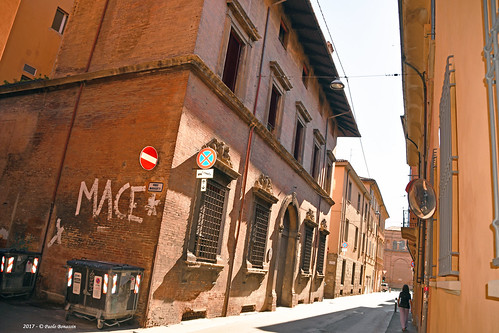 Bologna via Marsili  Palazzo Fava