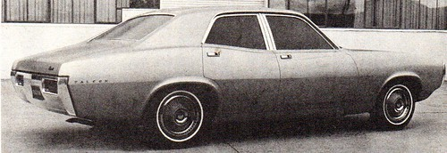 Clay Mock Up For The Australian Designed 1972 XA Ford Falcon