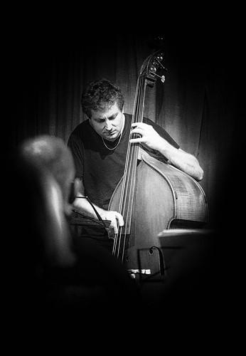 Thomas Fonnesbæk, bassist in Cafe JazzCup, Copenhagen Jazzfestival 2017
