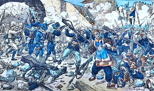 义和团运动.......Boxer Rebellion...was a violent anti-foreign, anti-colonial, and anti-Christian uprising that took place in China between 1899 and 1901