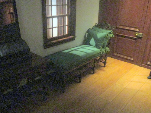 Cane Couch in Wentworth Room, 1695-1700