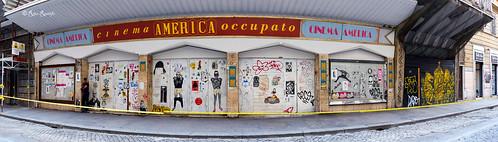 Roma. Trastevere. Street art by ...