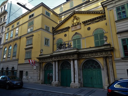 Wien, 6. Bezirk (the art of historic places in the suburbs not far away from downtown Vienna), Linke Wienzeile/Millöckergasse (Theater an der Wien)