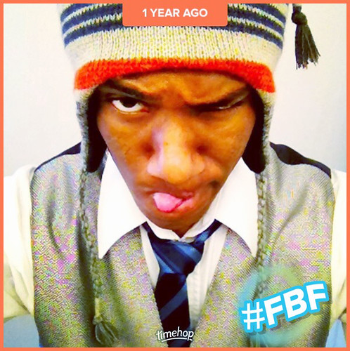 MEE...(21 years old)...taking a somewhat funny/or mad (serious) face selfie. 1 year ago. Originally 4 years ago. (10/13/17) #timehop #flashbackfriday #me #madface #selfie #collegeyears #forever21 #21men #church #christian #myyouth