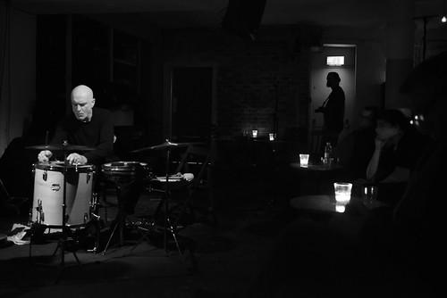 Urs Leimgruber, Jacques Demierre, Eddie Prévost, Roger Turner at Cafe OTO