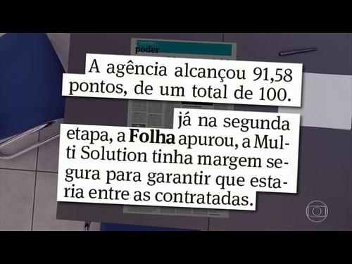 Jornal Hoje 25/04/17 Falcatrua em Licitação do Banco do Brasil
