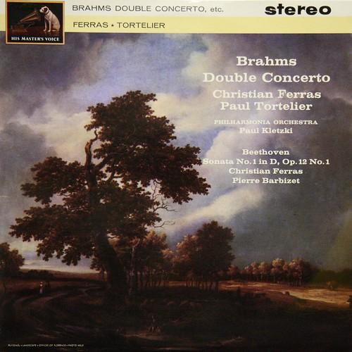 ASD 549 Brahms - Double Conceto - Christian Ferras, Paul Tortelier - Paul Kletzki - PO - EMI