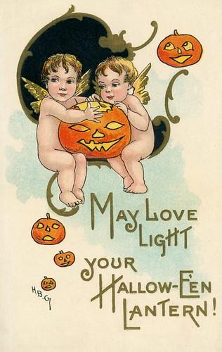 May Love Light Your Halloween Lantern!