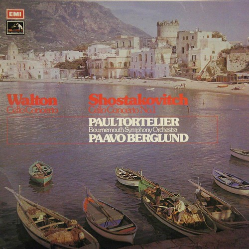 ASD 2924 Shostakovich - Cello Concerto No.1 - Paul Tortelier - Paavo Berglund - Bournemouth SO - EMI