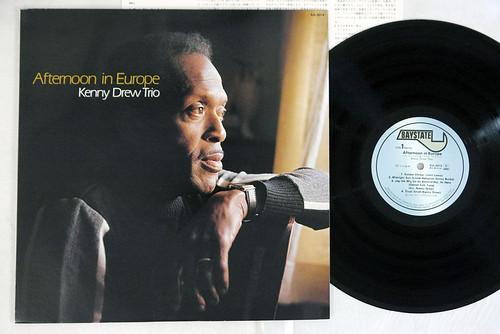 KENNY DREW TRIO AFTERNOON IN EUROPE BAYSTATE RJL-8014 Japanese Pressing Vinyl LP
