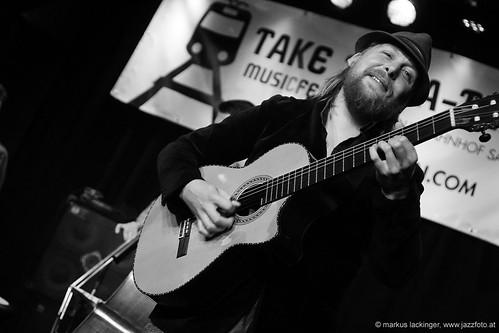 Julien Chanal: guitar, Take the A-Train Musicfestival Salzburg