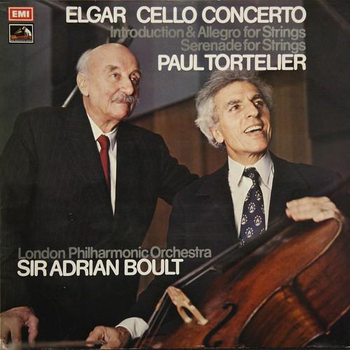 ASD 2906 Elgar - Cello concerto - Paul Tortelier - Adrian Boult - LPO - EMI
