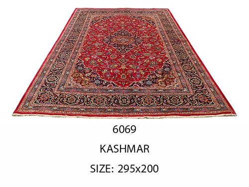 Rug# 6069, Kashmar, 295x200 cm