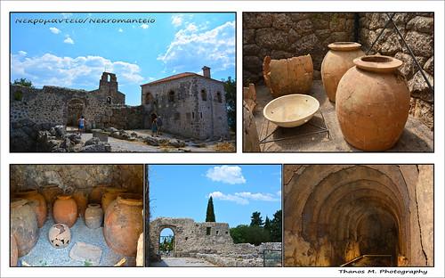 The Archaeological Site of the Nekromanteion of Acheron/Preveza-Greece