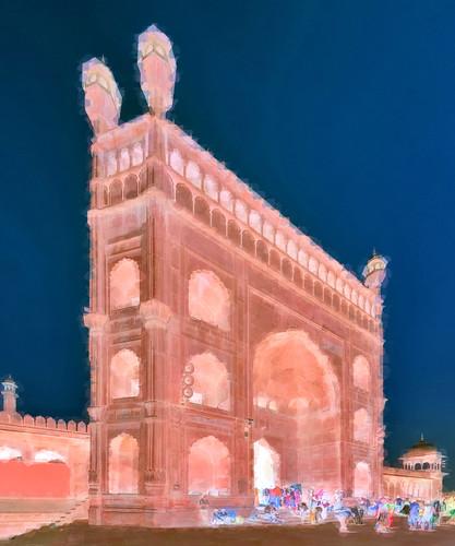 India - Delhi - Jama Masjid - 1bb