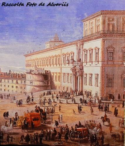 1706 2010 Veduta del Palazzo del Quirinale a, di Gaspar van Wttel