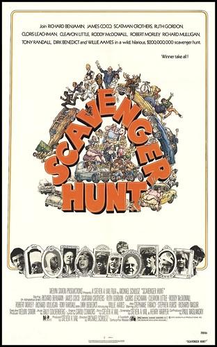 Scavenger Hunt (1979/20th Century-Fox) 1 sheet