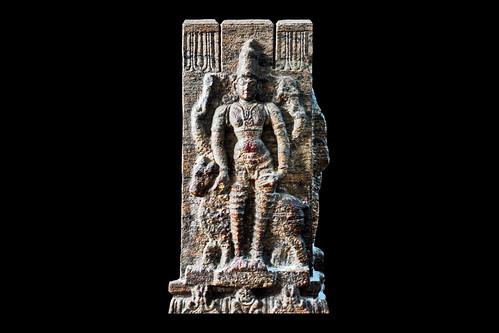 India - Tamil Nadu - Madurai - Meenakshi Amman Temple - Vishnu - 180d