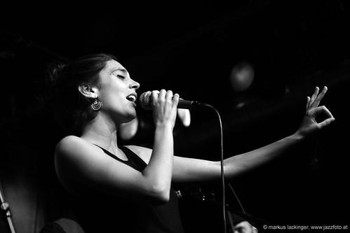 Sandra Sangiao: vocals, Take the A-Train Musicfestival Salzburg