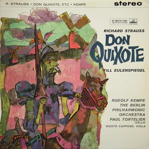 ASD 326 Strauss R. - Don Quixote, Till Eulenspiegel - Paul Tortelier - Giusto Cappone - Rudolf Kempe - BPO - EMI