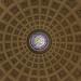 12 ottobre 2017. Roma, basilica di Santa Maria degli Angeli, cupola del vestibolo circolare
