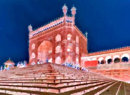 India - Delhi - Jama Masjid - 4bb