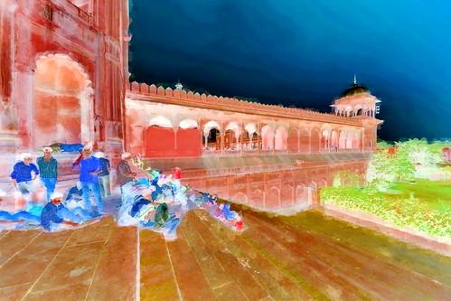 India - Delhi - Jama Masjid - 3bb
