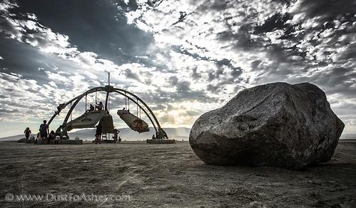 Temple of Gravity Burning Man 2017
