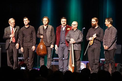 Le chanteur turque Ahmet Erdoğdular et ses invités aux Nuits du Labyrinthe (Genève, Suisse)