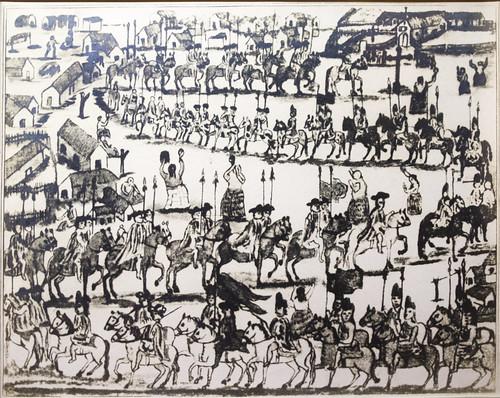 Miltary Parade in San Javier, Reducción de Indios Mocobíes