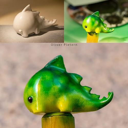 Airbrush Dragon 3D Print