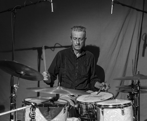 Steve Noble, Colin Webster & Sheik Anorak (trio) with Dirk Serries at Cafe OTO