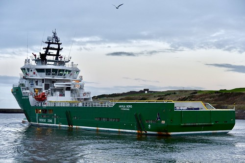 Havila Borg - Aberdeen Harbour Scotland 19/11/17