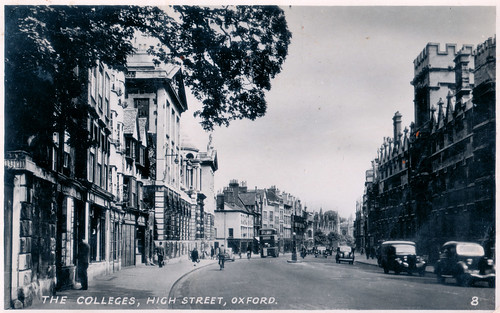 Oxford - Queen's College Prior to 1949