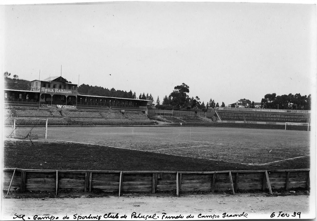 Campo do Sporting Club de Portugal, Fundo do Campo Grande (E. Portugal, 1939)