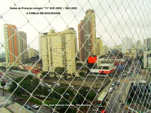 Rua José Antonio Coelho , Redes de Proteção Vila Mariana - 04011.061 , a sua melhor instalação,
