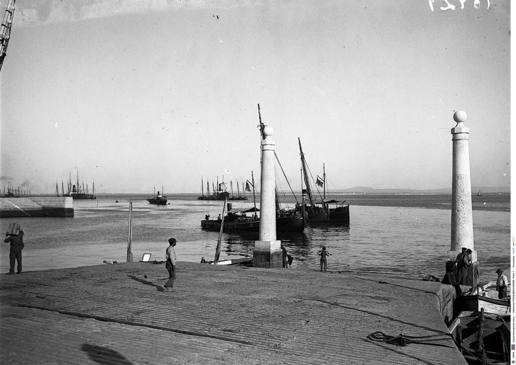 Caes das Columnas, Lisboa (Anón., ante 1939)