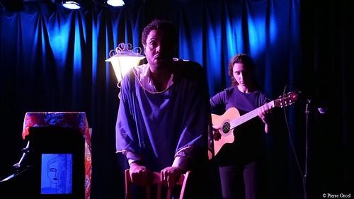 13. Jann Halexander, Barbara Felettig 'Le Mulâtre' Spectacle 'A Vous Dirais-Je', Théâtre du Gouvernail 3-11-17