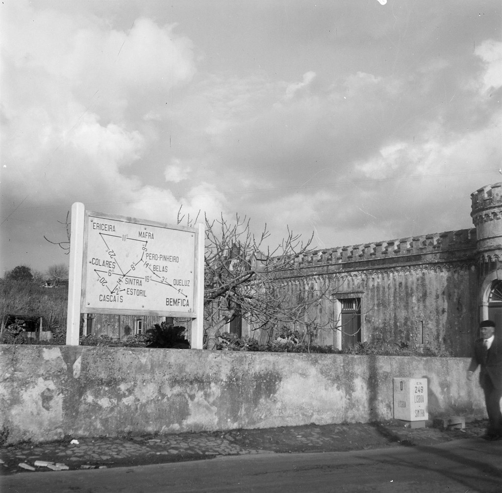 E.N. 249, km 0, Portas de Benfica (A. Goulart, 1962)