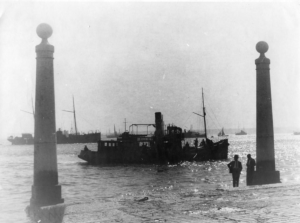 Vapor, Cais das Colunas (Anón., 1930-32)