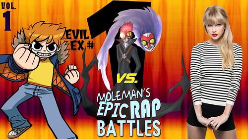 Moleman's Epic Rap Battles #42-A: Scott Pilgrim Vs. The World, Part 1
