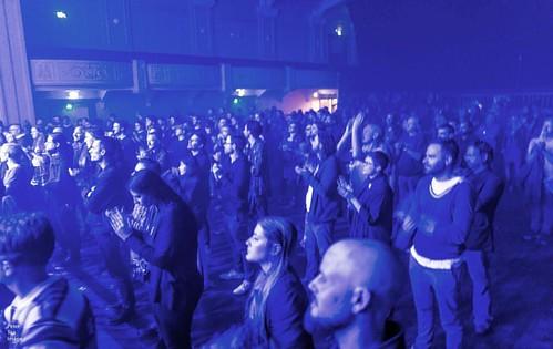 #crowd #wolfeyes #unsoundadelaide unsoundadelaide17 #pharmacon #petertea #peterteaimages #musicphotography #urbandecay