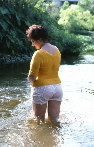 Nichols stream wade about, 1988