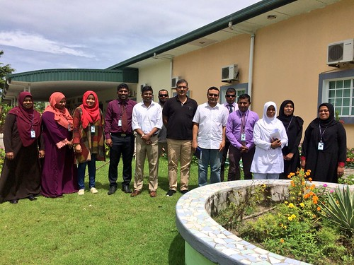 Group photo with Laam Regional Hospital managment team