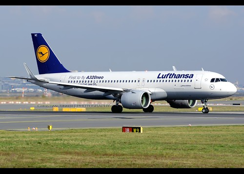 A320-271/N | Lufthansa | First to fly A320neo | D-AINC | FRA